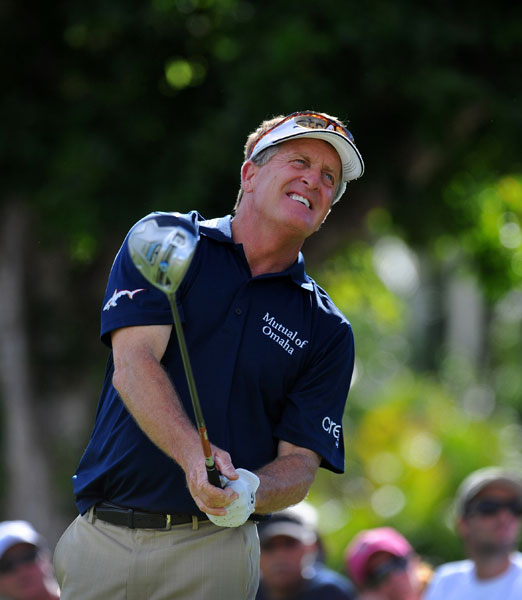 Straight-hitting Fred Funk won eight times on Tour, including the 2005 Players Championship. He's added eight victories on the Champions Tour and has a +2.3 at Pablo Creek Golf Club in Jacksonville, Fla.