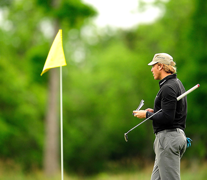 Barnes birdied six of the final eight holes on the back nine.