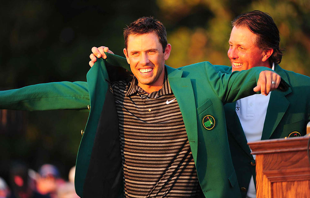 Coupled with Louis Oosthuizen's win at the 2010 British Open, Schwartzel gave South Africa its second major title in three events.