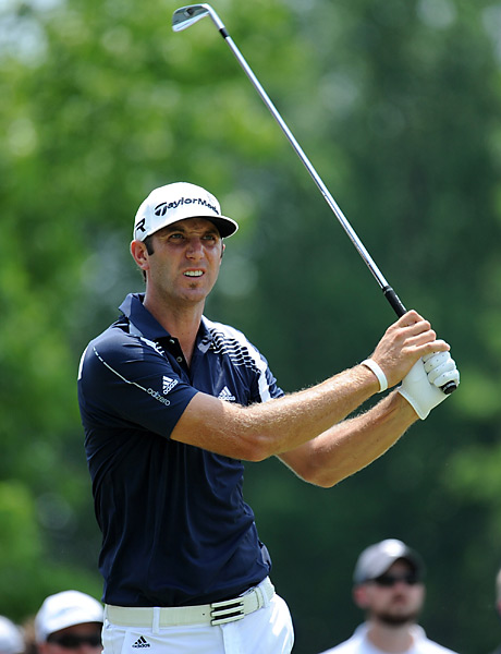 Dustin Johnson shot a 70 and tied for 10th.