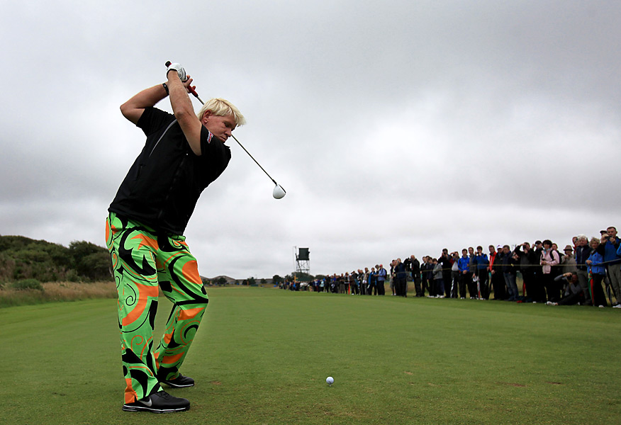 John Daly is trying to win his third career major and second British Open.