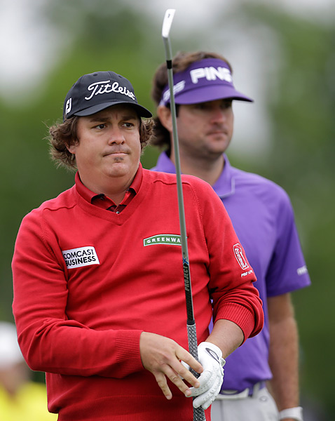 Jason Dufner shot a two-under 70 while playing alongside Bubba Watson, who opened with a one-over 73.