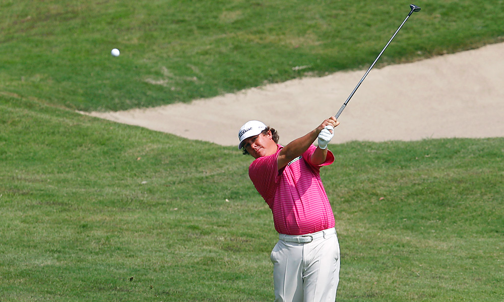 Jason Dufner shot a 66 on Friday and is tied for fourth heading into the weekend.