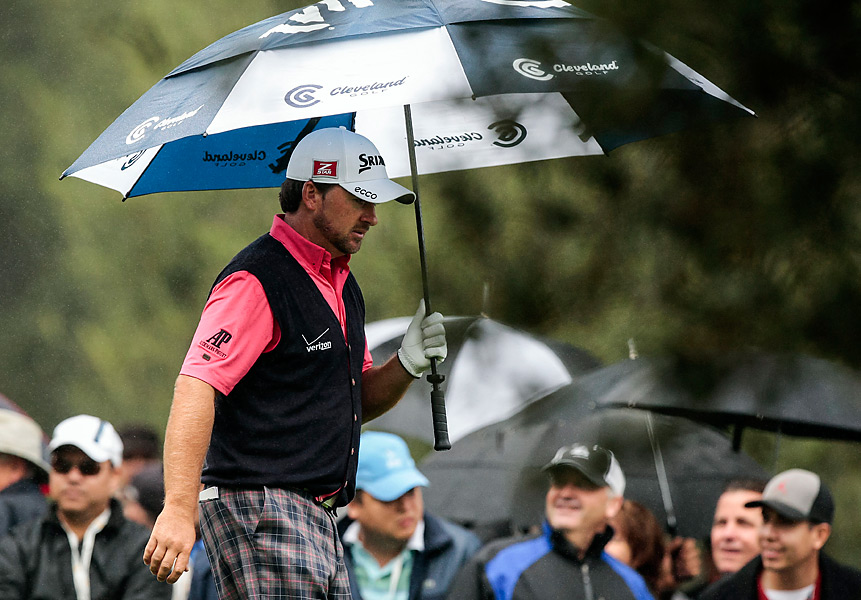 It was McDowell's second win at Sherwood, and first title of 2012.