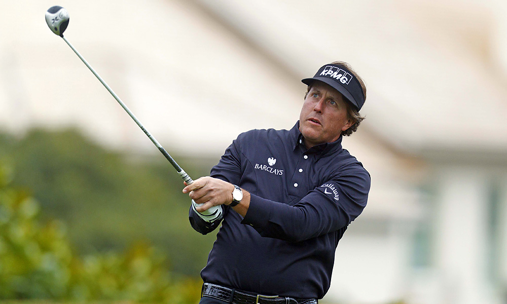 Mickelson went on to become the ninth player to win his 40th career PGA Tour event.