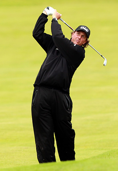 Phil Mickelson is seeking his first career British Open title this week.
