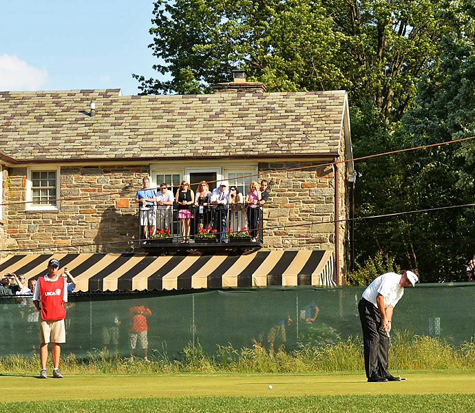 Merion provided an intimate setting, and the classic course proved to be a tough test all week long.