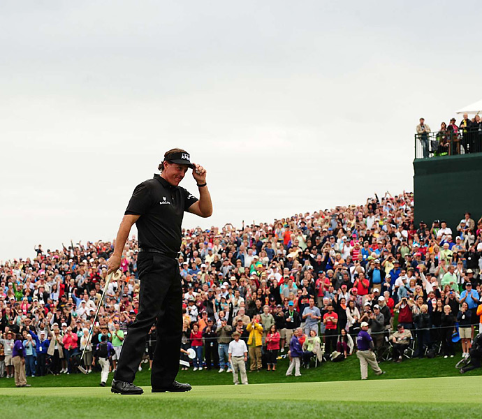 It was Mickelson's 41st career title.