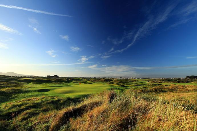 "Portmarnock (No. 54 on Top 100 Courses in the World): ""Probably the fairest links golf course in the world.  A nice 'big' challenge with relatively flat fairways and greens, which is unusual for a links golf course.""More Top 100 Courses in the World: 100-76 75-5150-2625-1"