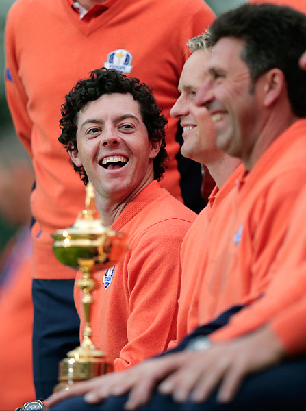 Rory McIlroy, the No. 1 player in the world, went 1-1-2 at the 2012 Ryder Cup.