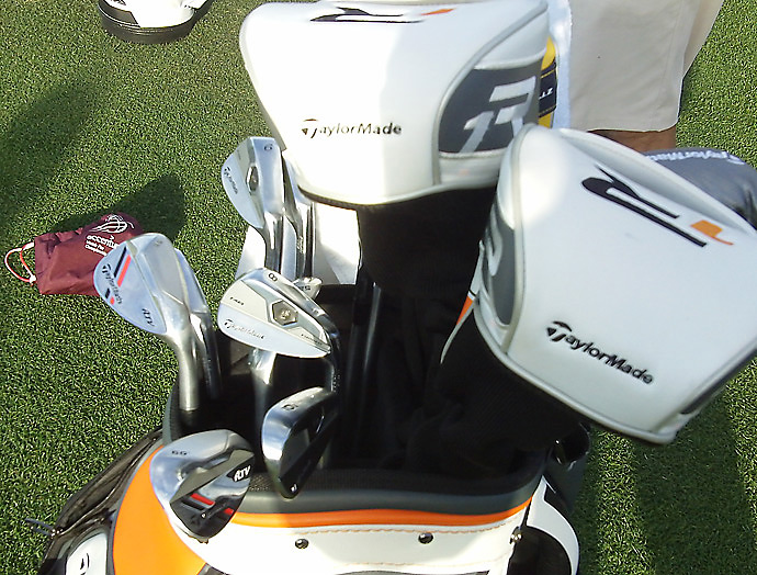 TaylorMade staffer Justin Rose has a pair of ATV wedges to round out the bag.