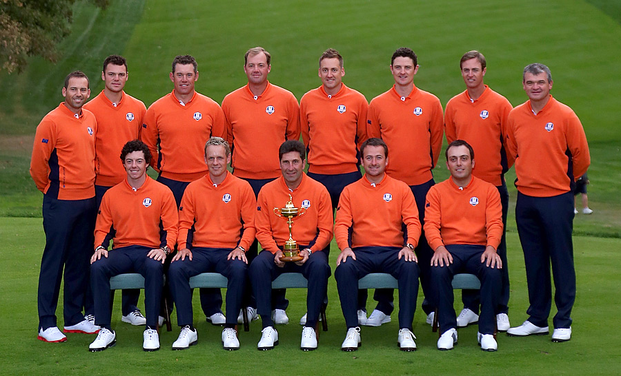 The Europeans have won four of the last five Ryder Cups.