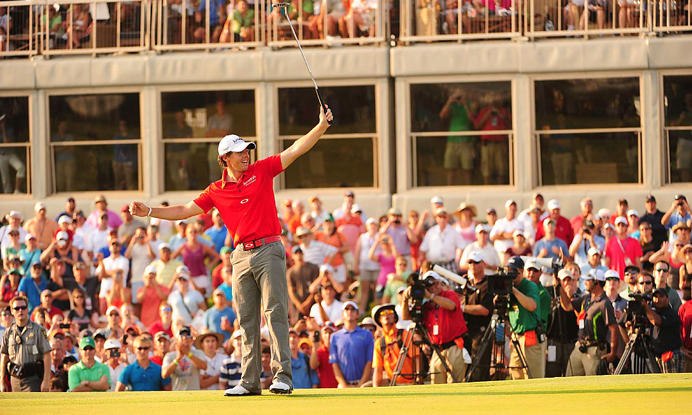 Scoring Average: Rory McIlroy, 68.873