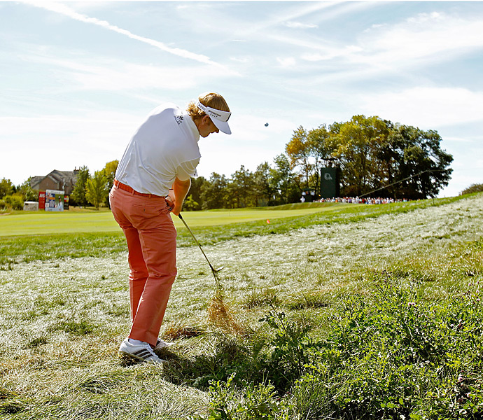Brandt Snedeker was tied for the lead at the start of the day.