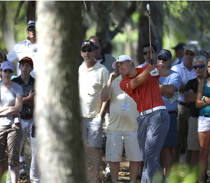 19-year-old Jordan Spieth shot a 70 and tied for seventh.