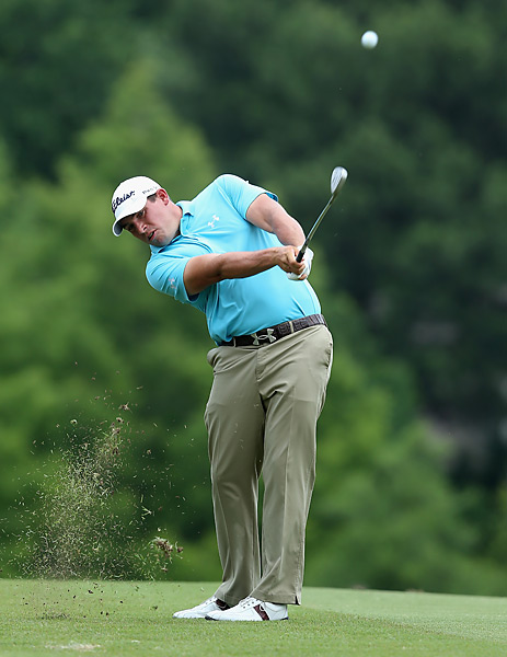 Scott Stallings shot a 68 and tied Mickelson at 10 under.