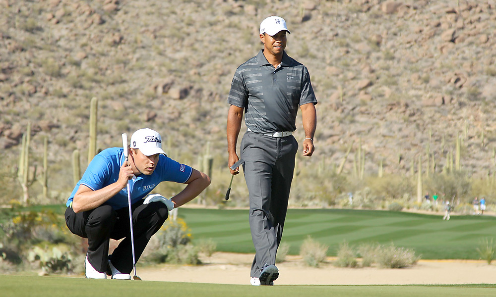 In his third event of the season, Woods lost to Nick Watney, 1 down, in the second round of the WGC-Accenture Match Play Championship.