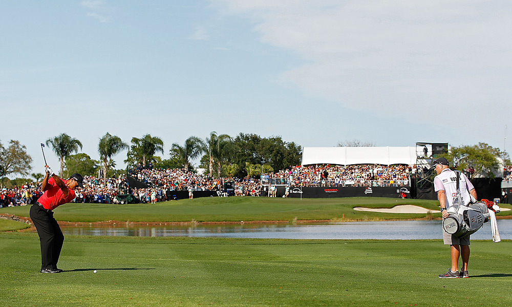 Woods made a final-round charge at the Honda Classic in March, but his 62 wasn't enough to catch Rory McIlroy, who won the event and took over the No. 1 ranking for the first time in his career.