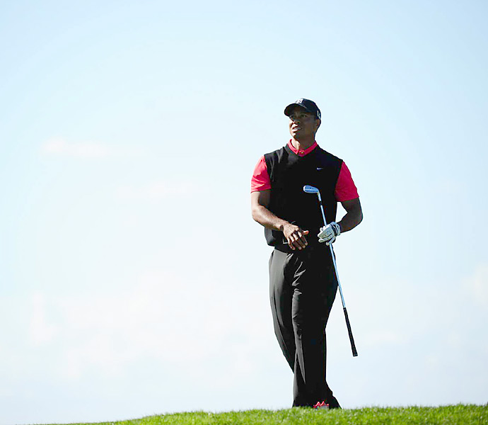 Woods went on to win his 75th career PGA Tour title by four shots.