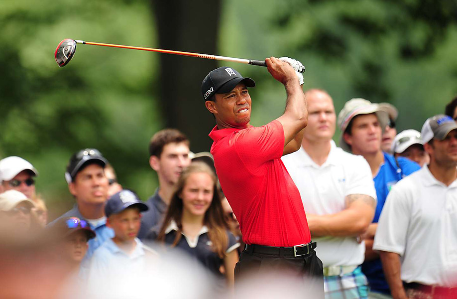 Woods made three birdies and one bogey in the final round.