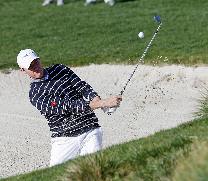 Jimmy Walker made a run at the lead on Sunday afternoon. He shot a 66 to tie for third.