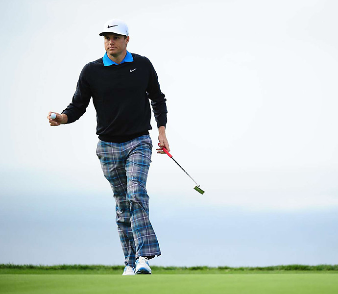 Nick Watney shot a third-round 71 and trailed by five entering the final 18 holes.
