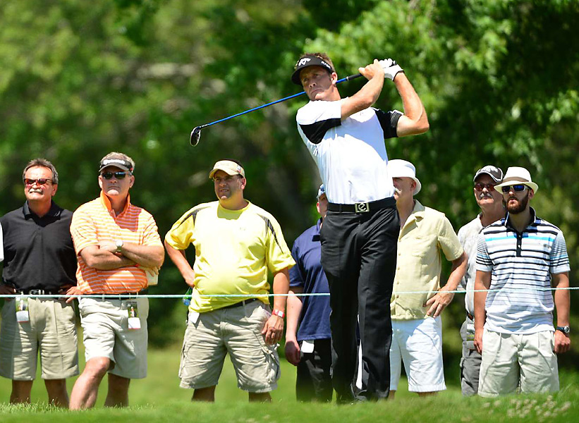 Stuart Appleby was in contention entering the final round, but shot 72 to fade to a tie for 18th place.
