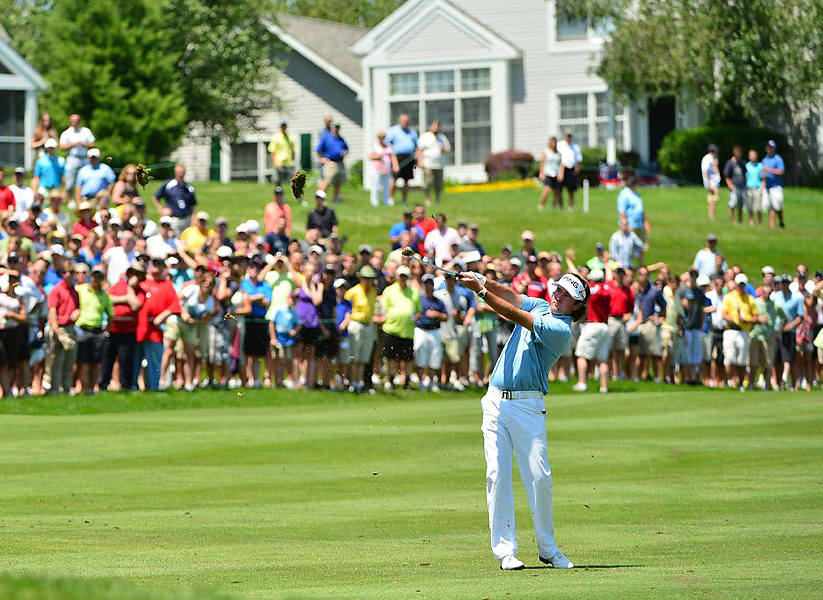 Watson was seeking his first victory since winning the Masters in April.
