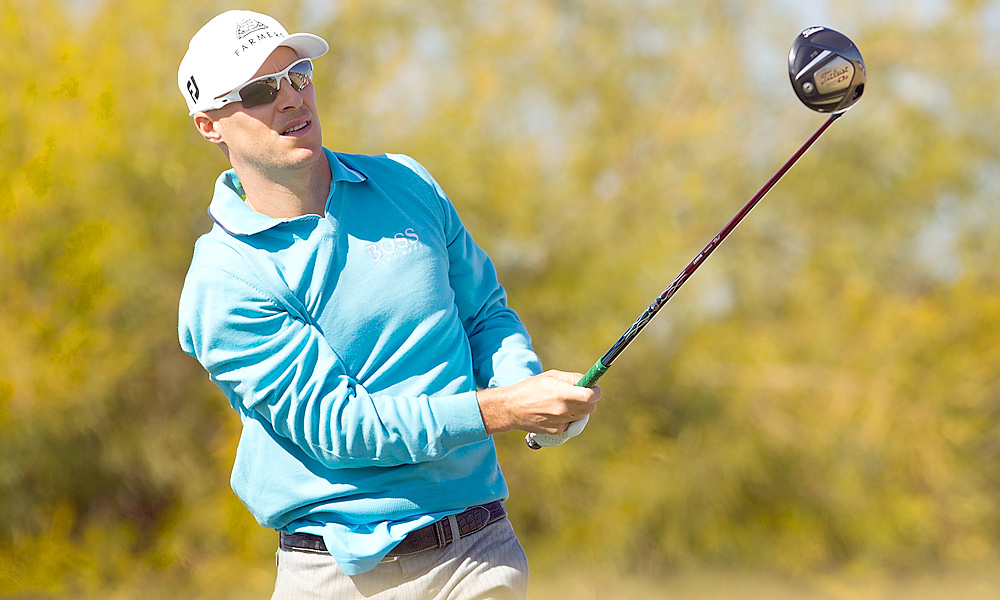 Ben Crane shot a 66 to finish alone in second place.