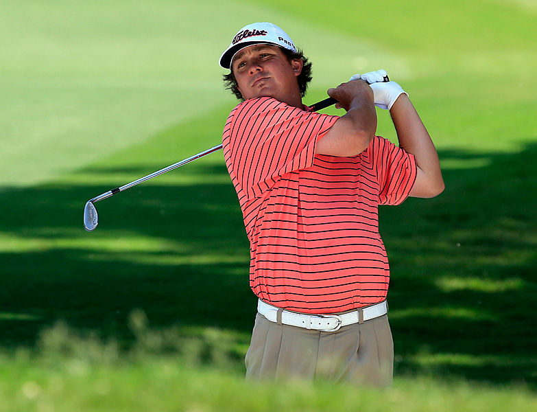 Dufner shot a 74 to finish one shot back.