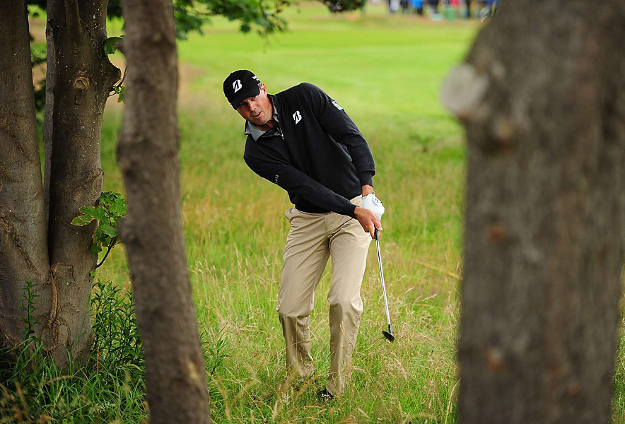 Matt Kuchar made three birdies and two bogeys for a 69.