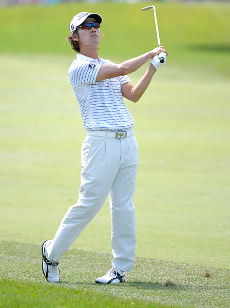 Kevin Na opened with a 30 on the back nine, a nine-hole record at Sawgrass. He finished with a 67.