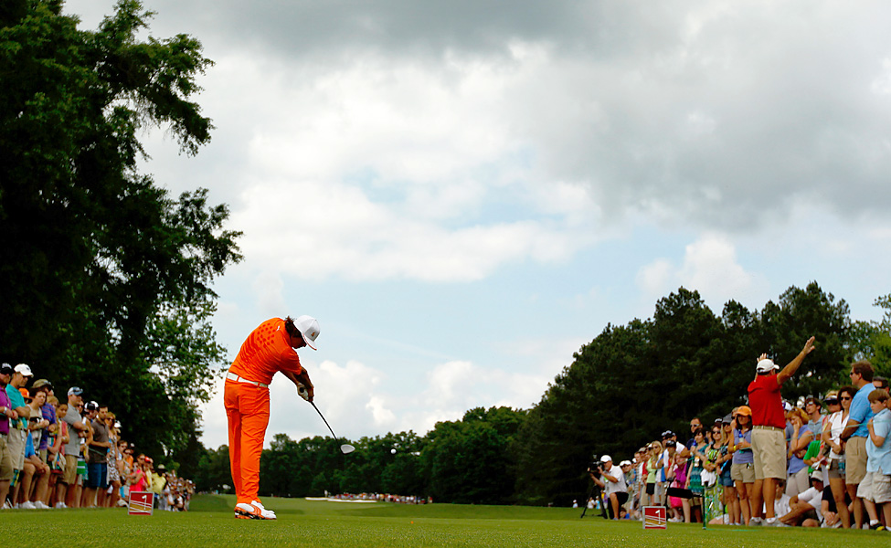 Fowler entered the day three shots behind leader Webb Simpson.