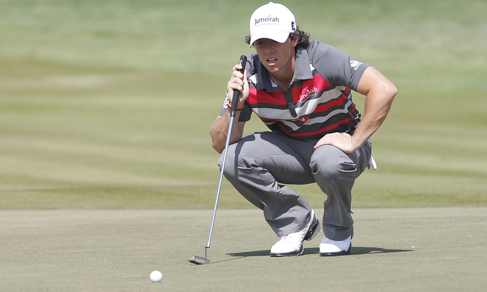Rory McIlroy shot a 69 to finish alone in second.