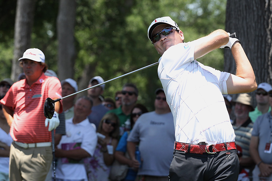 Johnson earned his first title since winning the Colonial in 2010.