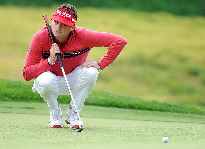 Bradley made two early bogeys, but kept his focus while making birdies on holes 7, 9 and 11.