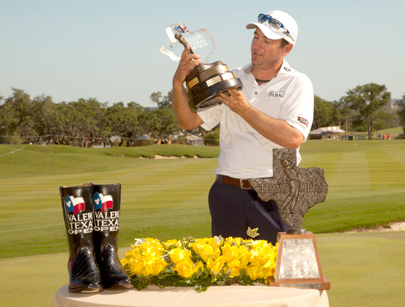 It was Curtis's fourth career PGA victory -- and first that earned him a pair of cowboy boots.