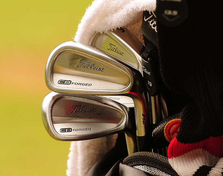 Bill Haas, winner of the 2012 Northern Trust Open at Riviera, uses Titleist 712 CB irons.