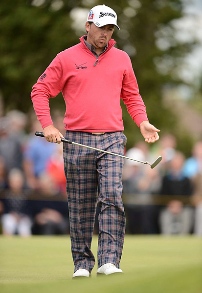 Graeme McDowell fired a three-under 67 in his opening round.