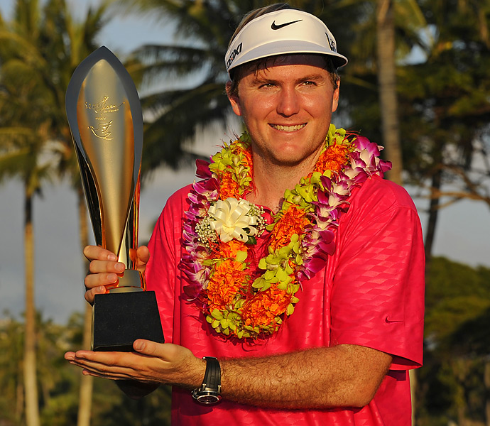 Henley finished at 24-under 256, breaking the Sony Open scoring record  by four shots.