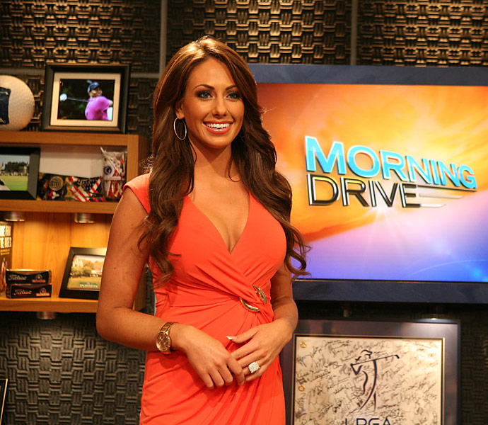 Sonders burst onto the golf scene when she was hired to co-host Golf Channel's new show, 'Morning Drive.'