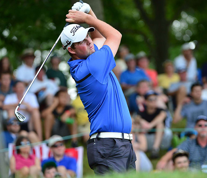 Marc Leishman shot an eight-under 62 early in the afternoon on Sunday, and his 14 under total held up for his first career PGA Tour victory.