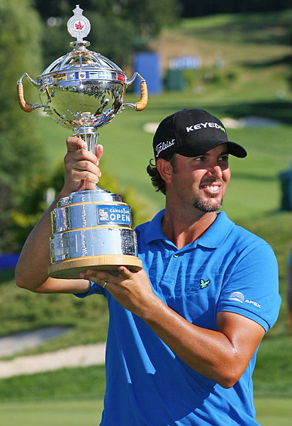 It was Piercy's second PGA Tour victory.