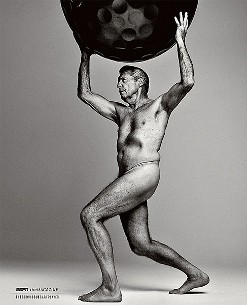"Gary Player made headlines when he posed for ESPN The Magazine's 2013 ""Body Issue"" at the age of 77."