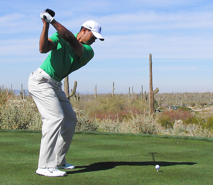 Tiger Woods                                              Tiger's workouts are legendary, though he actually drove it longer when his nickname was Urkel.