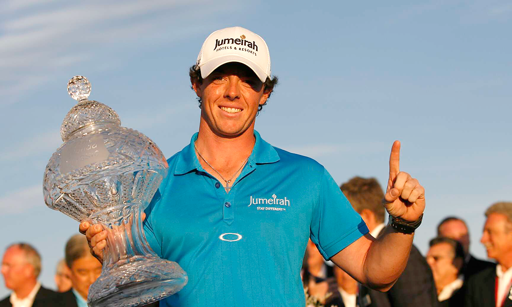 Rory McIlroyTotal Weeks at No. 1: 2McIlroy took over the No. 1 ranking win his victory at the 2012 Honda Classic. At age 22, he became the second-youngest player to rise to the top spot, behind only Tiger Woods, who was 21 when he first reached No. 1 in 1997. He surrendered the ranking back to Donald after the Englishman won the 2012 Transitions Championship.