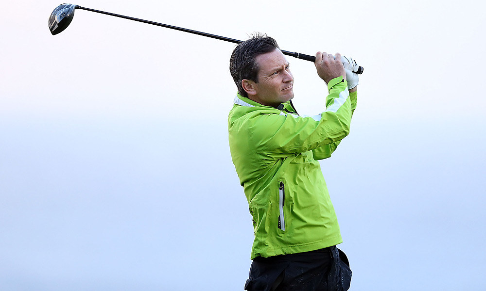 Mark Wilson ditched his hat Monday morning. He went on to shoot a four-under 69 to share the opening-round lead.