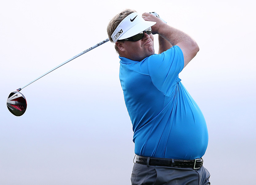 Carl Pettersson also shot a 70 in his opening round.