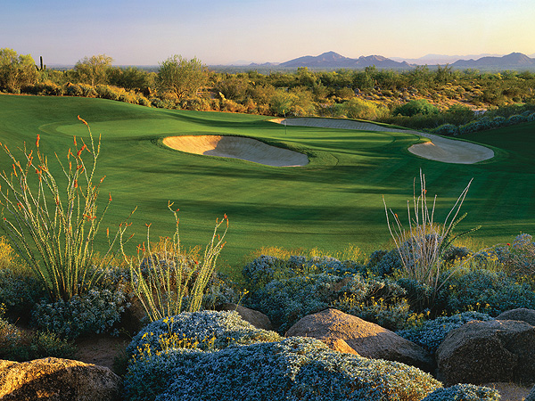 Where to Impress Your Clients                     These five courses will help you seal the deal.                                          By Joe Passov                     Senior Editor (Courses/Rankings)                     It's an old axiom that as much business gets done on the golf course as in the boardroom. A round with a client at a top quality course can help your bottom line. These quality, publicly accessible venues — mixing geographic locations — are the ideal places to seal your negotiations.                                           Grayhawk Golf Club                     Scottsdale, Ariz.                     480-502-1800, grayhawk.com                     Classic rock is piped into faux-stone speakers on the driving range, the beverage cart girls are famous for their hospitality and efficiency and there are pre- and post-round libations to be had in Phil's (as in Mickelson) Grill. Toss in two solid desert tracks, Talon and Raptor (shown here), the latter a Tom Fazio design that hosts a PGA tour event in October, and you've got the ingredients for an instant business relationship.