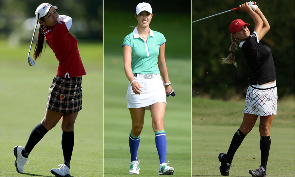 BEST KNEESOCKS: Thanks to LPGA trendsetters like Ai Miyazato, Michelle Wie and Belen Mozo, compression socks were elevated from mere pieces of equipment to full-blown fashion statements.